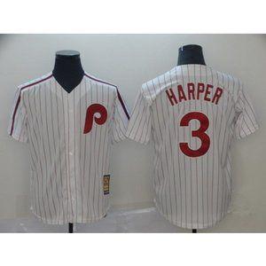 NEW Men's Philadelphia Phillies Harper MLB Jersey